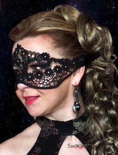Maska gipiurowa  Na sprzedaż https://www.sagatia.pl/p4850,maska-koronkowa-001.html