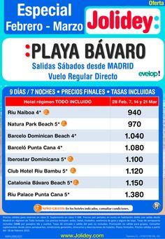 Especial Febrero - Marzo a Playa Bávaro desde 940€. Salidas 28 Feb y 07, 14 y 21 Marzo ultimo minuto - http://zocotours.com/especial-febrero-marzo-a-playa-bavaro-desde-940e-salidas-28-feb-y-07-14-y-21-marzo-ultimo-minuto/