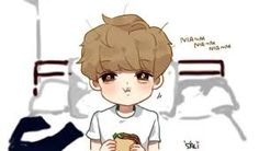 Image result for exo luhan chibi