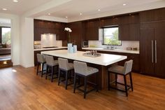 Linden Hills Contemporary - contemporary - kitchen - minneapolis - Andrea Swan - Swan Architecture