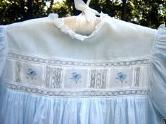 Heirloom Bow Dress Hand-me-Down | Janice Ferguson Sews