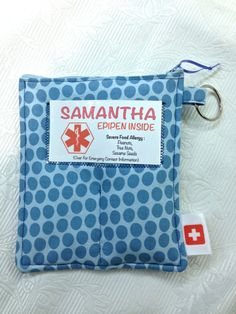 Insulated Epi Pen Case LOTS of Fabric Choices by DymantDesigns, $35.00