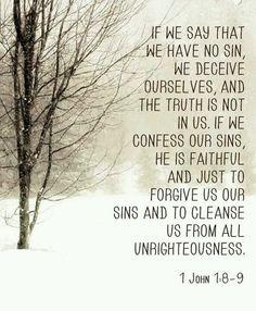 1 John 1:8-9
