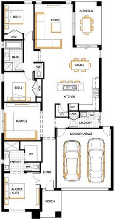 24 x 36 floor plans nominal size 24 x 52 actual size for Case layout planimetrie