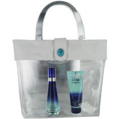 Cool Water Wave perfumem EDT SPRAY 1.7 OZ & BODY LOTION 2.5 OZ & BAG