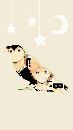Haikyuu!! | Tumblr Kagehina, Kageyama X Hinata, Haikyuu Yaoi, Iwaizumi Hajime, Cute Wallpaper Backgrounds, Cute Wallpapers, Baby Crows, Haikyuu Wallpaper, Anime Japan