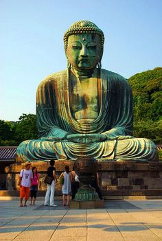 Daibutsu (Giant Buddha) by Mr. FRANTaStiK, via Flickr