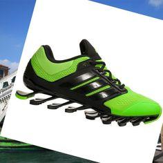 Adidas Springblade Drive Uomini Formatori Nero/Verde 2 · PrezzoAdidas  ShoesCasual