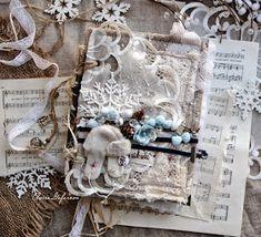 Привет! Приближающаяся зима навеяла мысли о сказке...зимней сказке! Сложился альбом сказочный, зачарованный, припорошенный снегом, н... Scrapbook Cards, Scrapbooking, Frame, Christmas, Blog, Albums, Decor, Yule, Dekoration