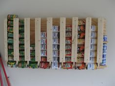 How To Build a Canned Food Storage Rack