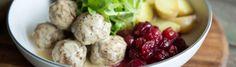 Boulettes suédoises (Köttbullar) par Josée di Stasio - di Stasio - Téléquébec New Cooking, Cooking Recipes, Healthy Recipes, Quebec, Potato Salad, Potatoes, Beef, Vegetables, Ethnic Recipes