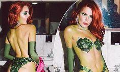She hosted a very exclusive Halloween party this weekend. And all eyes were on Halsey as she slipped into the role of Batman's Poison Ivy for her Friday soiree.
