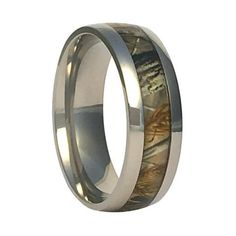 Muddin' and Huntin' won't hurt these!!! The 8mm wide Comfort Fit Titanium Band includes a...