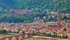 """10 most beautiful and Underrated Cities in Europe. 10. Heidelberg, Germany Located in the valley of the Odenwald Mountains and on the banks of the River Neckar, Heidelberg is a picturesque and romantic German city. Heidelberg Castle is the most notable landmark in the city. The city is also known for its historic """"old town,"""" the Philosopher's Walk up the nearby mountains, many historic churches and the University of Heidelberg."""