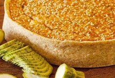 Torta de abobrinha com queijo - Basilico