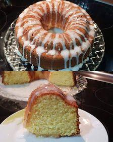 ΜΑΓΕΙΡΙΚΗ ΚΑΙ ΣΥΝΤΑΓΕΣ 2: Κέικ λεμονιού με γλάσο !!!