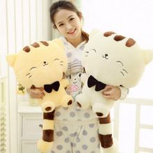 "16"" x10""Plush toys for children kawaii cat with long tail toy Kids'stuffed cat doll, Children toys and baby toy(China (Mainland))"