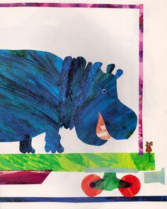 1, 2, 3 to the Zoo: A Counting Book - written & illustrated by Eric Carle (1968)