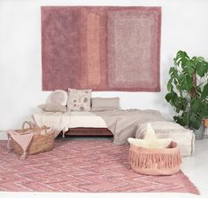 Dusky pinks are always a winner - adding warmth and comfort into any room. We love this new design from Lorena Canals. Lorena Canals Rugs, Washable Area Rugs, Rectangular Rugs, Cozy Room, New Home Designs, Design Consultant, Decoration, Modern Design, New Homes