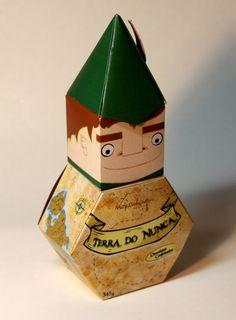 """Embalagem de Chocolate """"Terra Do Nunca"""" by Mathias Pape, via Behance"""