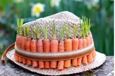 20. Carrot Easter bonnet