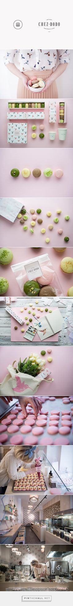 C H E Z D O D O | art direction & graphic design for an artisan macaron manufacture