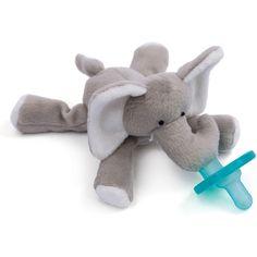 http://www.alternativebabyclothes.com/category/wubbanub/ http://www.babygirlnurseryideas.com/category/wubbanub/ Elephant Pacifier