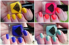 Luxe Lacquers: July 2014 #nailpolish #subscriptionbox