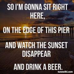 Luke Bryan ~ Drink A Beer
