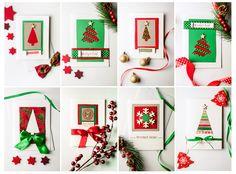 Some handmade Christmas cards ideas #Christmas #cards #handmade