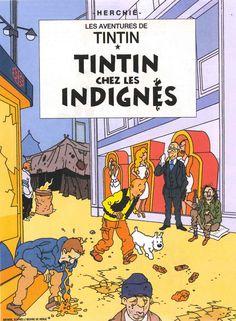 Les Aventures de Tintin - Album Imaginaire - Tintin chez les Indignés