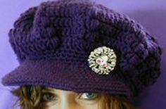Click link goes right to pattern under picture. I love this hat-now if i can find a free crocheted fedora pattern.