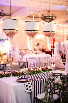 {A Crystal Clear Vision 2015} Linens: Waterford Event Rentals // Designer: Luxe and Luna Couture Events // Photographer: Chelsea Anderson Photography