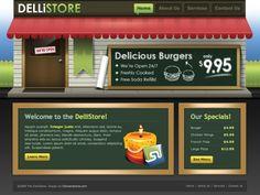 DelliStore: Professional PSD Template psd file