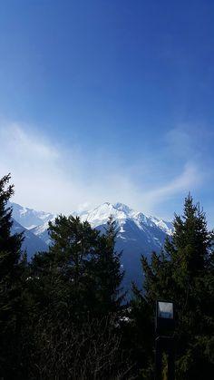 Winter in Mösern - Inn Valley Alps, Mount Rainier, Austria, Mountains, Winter, Nature, Travel, Voyage, Trips