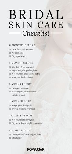 Makeup, Beauty, Hair & Skin | How to Get the Best Skin of Your Life For Your Wedding Day | POPSUGAR Beauty #weddinghacks