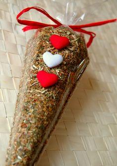 Dárkové balení kotvičníku ke svátku sv. Valentýna z Království chuti v Praze