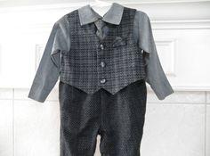 Baby Boy Suit 18 Month Holidays Kids Clothing by ThePoshBabyShoppe