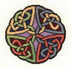 Celtic Collection - Celtic Knot cross stitch kit Found on Pinterest
