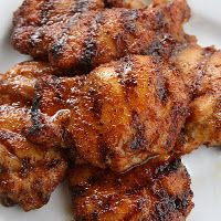 Spicy Honey Chicken...it's what's for dinner...tonight! :-)   The honey glaze is to DIE FOR!!!