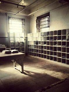 alcatraz mail room - Google Search