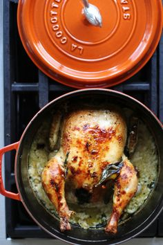 Milk chicken & Staub | HonestlyYUM