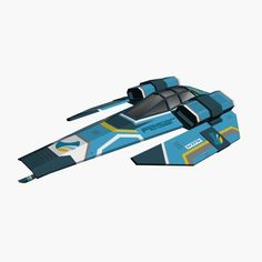 Feisar Ship free 3D Model Game ready .max .obj .3ds .fbx .dxf - CGTrader.com
