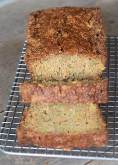 No mixer needed for Zucchini Pineaple Bread! Great way to use garden zucchini. Zucchini Pineapple Bread, Zuchinni Bread, Zucchini Bread Recipes, Zucchini Muffins, Chocolate Hazelnut Cake, Chocolate Zucchini Bread, Baking Recipes, Dessert Recipes, Dessert Bread