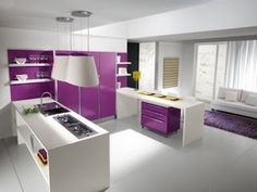 1000 images about decoraci n cocina on pinterest purple - Cocinas modernas italianas ...