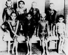 Most disturbing photo I have ever seen regarding WW2. Jewish children, the victims of medical experiments in Auschwitz