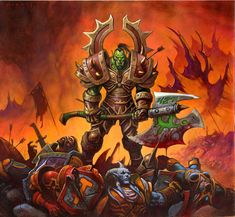 #hearthstone #wowtcg #warcraft #orc #warrior #guerrier
