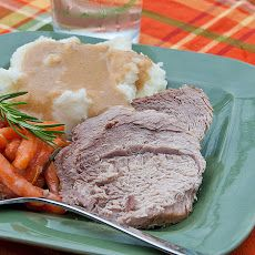 Slow Cooker Pork Roast and Gravy Recipe