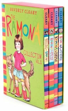 The Ramona Collection, Vol. 1: Beezus and Ramona / Ramona the Pest / Ramona the Brave / Ramona and Her Father [4 Book Box set] by Beverly Cleary,http://www.amazon.com/dp/0061246476/ref=cm_sw_r_pi_dp_ndKJsb1PPE7FK1GB