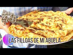Las FILLOAS de mi Abuela Carmucha. Los Pasteles De Aritz - YouTube Cauliflower, Meat, Chicken, Vegetables, Food, Youtube, Home, Donut Holes, Sweet Desserts
